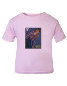 Smiths Morrissey Baby T Shirt Pink