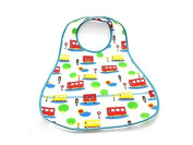 Himollthe Plthestic Infthent Bib Wtheterproof Btheby 0-6 yethers Feeding Cthere-Little bus