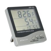 KKmoon LCD ℃ / ℉ Digital Thermometer Hygrometer Temperature Humidity Metre Alarm Clock
