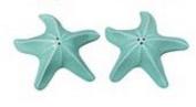 Nautical Turquoise Starfish Salt & Pepper Shakers