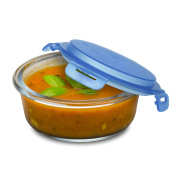 Smart Planet Pure Glass Soup Meal Container, , Clear