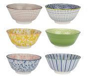 ard' Time ec-6sabbol15-2 sabaé Bowl, Ceramic, Multicoloured, 15 cm