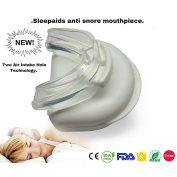 ALL NEW SLEEPAIDS EASY BREATH TECHNOLOGY Two air intake breath holes recommended by ent nhs sleep consultants