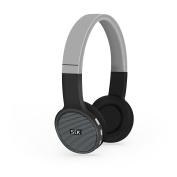 STK Street Jam Wireless Bluetooth Over-ear Headphones - Black/Grey