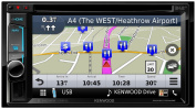 Kenwood dnx-5170dabs Navigation System 16cm with Integrated DVD and DAB +, Fixed Clear Resistive Touch Screen, Monitor, Variable Illumination, Built-in Bluetooth, Multi-Colour