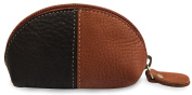 Leather Coin Purse - Change Wallet Key Holder Card Case Small Zip Bag For Men And Women