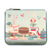 Y by Yoshi Afternoon Tea Zip Top Leather Purse