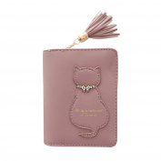 squarex Lovely Women Cat Tassel Clutches Wallet Handbag Cardbag Tote Ladies Purse