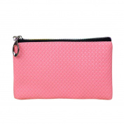 Women Fashion Leather Wallet Fcostume Zipper Clutch Purse Lady Long Handbag Bag
