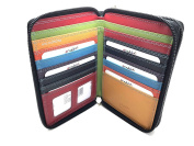 Golunski RFID Safe Graffiti Range Quality Leather Large Multi Coloured Purse With Gift Box 47