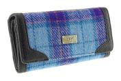 Genuine Harris Tweed Ladies Long Wallet Purse Bute In Various Colours LB2000