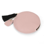 High Quality Genuine Leather Mini Coin Purse Women Small Coin Bags Slim Wallet Creative Designer Cowhide Storage