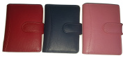 Soft Leather Credit Card Holder by Prime Hide for 20 Cards