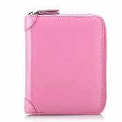 MeiliYH Women's Leather Credit Card Holder Paragraph Multi-functional Zipper Card for Women