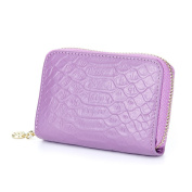 MuLier Women Leather Spacious Cute Zipper Card Wallet - Made from Primely Genuine Leather