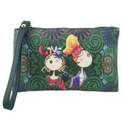 Cute Handbag,LMMVP Women Cartoon Handbag Small Tote PU Leather Ladies Purse