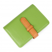 10 colours credit card holder credit card wallets for women men leather 26 card slots