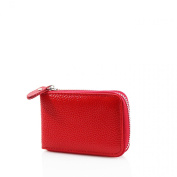 Ladies Womens Soft Leather Small Single Zip Coin Bag/Pouch/Wallet/Coin/Key Purse New