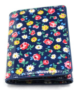 Cath Kidston Trifold Ticket Holder Tiny Rose Wallet Card Purse Oyster Bus Train