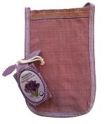 New Turkish Hamam Loofah Scrub Hand Mit Glove + Lavender Soap Bar Exfoliating Bath
