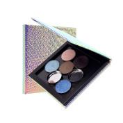 Weicici Empty Cosmetic Palette Magnet Box for Eyeshadow, Powder, DIY Cosmetic Foundation