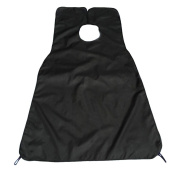 Beard Shaving Apron - Professional Bathroom Hair Beard Care Catcher Grooming Apron with Suction Cups