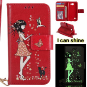 LG K3 Case , COOSTOREEU Premium PU Leather Wallet Case with [Kickstand] [Card Slots] [Magnetic Closure] [Luxurious Hand Strap] Flip Notebook Case for LG K3 , Red