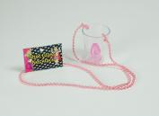 Pink Saucy Shot Glass On Beads