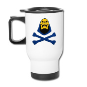 White He Man The Masters Of The Universe Skeletor Travel Coffee Mugs Insulated Coffee