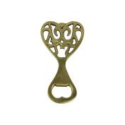 Art Deco Home - Brass bottle Opener 10 cm - 12484SG