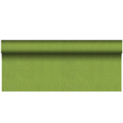 Papstar Tablecloth, Olive Green, 9.5 x 9.5 x 120 cm