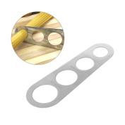 Jiamins Stainless Steel Pasta Spaghetti Measurer Measuring Ruler Kitchen Gadget Stick