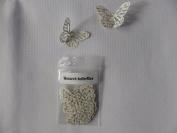 50 Monarch butterflies 4.5cm x 3cm made from a book