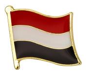 Yemen Flag Enamel Pin Badge