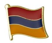 Armenia Flag Enamel Pin Badge