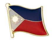 Philippines Flag Enamel Pin Badge
