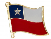 Chile Flag Enamel Pin Badge