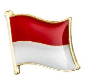 Monaco Flag Enamel Pin Badge