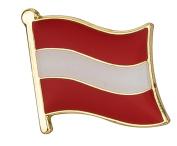 Austria Flag Enamel Pin Badge