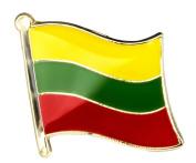 Lithuania Flag Enamel Pin Badge