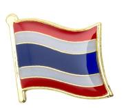 Thailand Flag Enamel Pin Badge