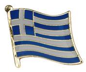 Greece Greek Flag Enamel Pin Badge