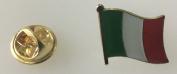 Italy Flag Enamel Pin Badge
