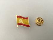 Spain Flag Enamel Pin Badge