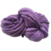 Xshuai Ball Woollen 4 Colours Wool Chunky Yarn Super Soft Bulky Arm Knitting Wool Roving Crocheting for Needle Felting Hand Spinning DIY Homemade Craft