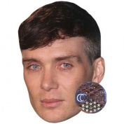 Cillian Murphy Celebrity Mask, Card Face and Fancy Dress Mask