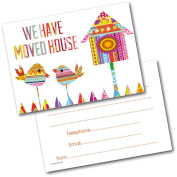 *NEW* Pack of 20 New Home Change Address Postcards Cards with Envelopes