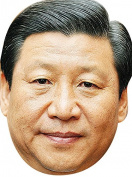 Xi JinPing Politician 2017 Celebrity Party Novelty Fancy Dress Face Mask