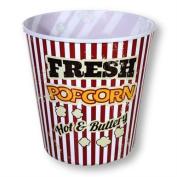 Plastic Popcorn Tub Cinema Reusable Popcorn Holder Tub Movie Sweets Bucket 2.8L Wilsons Direct