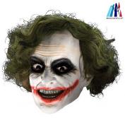 MASCARELLO® Clown Mask Joker Mask Realistic Clown Costume Halloween Cosplay Latex Party Mask